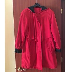 Red Utex Unisex Raincoat ❤️